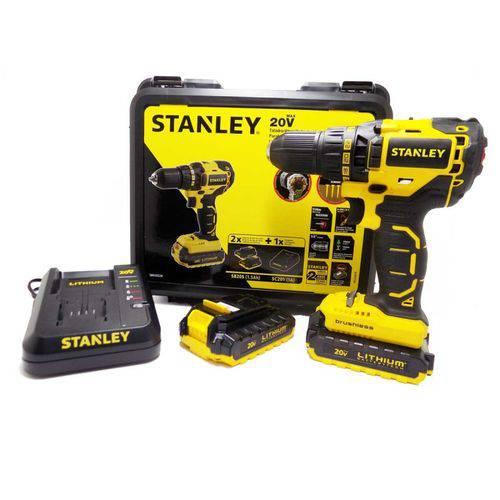 Parafusadeira Furadeira 1/2 20v 110v Sbd20s2k Brushless Stanley
