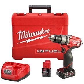 Parafusadeira/Furadeira a Bateria 1/2? 12V FUEL - Milwaukee 220V