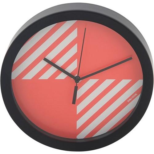Paraleh Relógio Parede 24 Cm Flamingo/preto