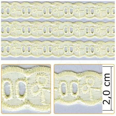 Passa Fita PP016 - 2,0 Cm 004 - Amarelo