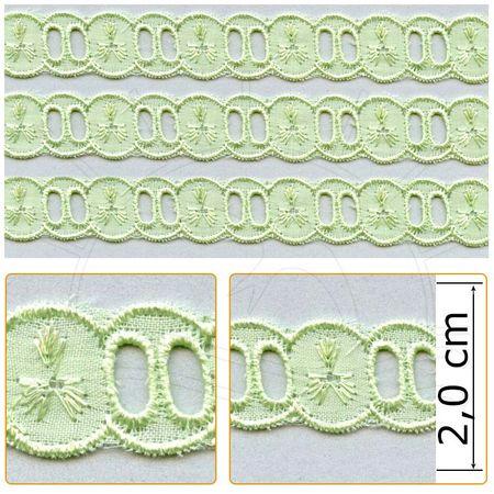 Passa Fita PP046 - 2,0 Cm 005 - Verde