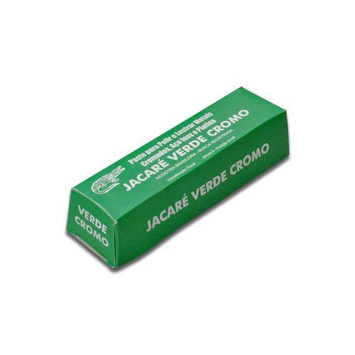 Pasta Abrasiva para Polir Jacaré Verde
