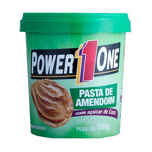 Pasta Amendoim com Açúcar de Coco - Power One - 500g