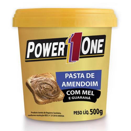 Pasta Amendoim com Mel de Guaraná Power One 500g - Nut