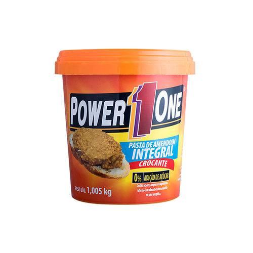 Pasta Amendoim Integral Crocante Power One 1,005kg Gt00047