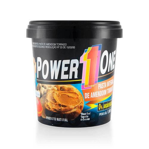 Pasta Amendoim Tradicional Integral Power One 1,005kg Gt00046