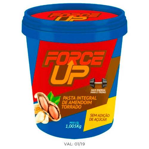 Pasta de Amendoim - 1,005kg - Force Up