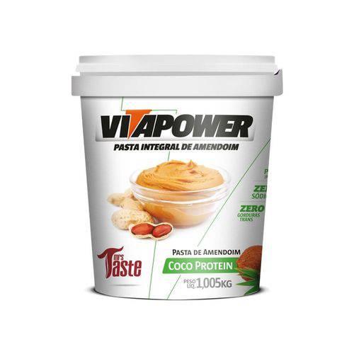 Pasta de Amendoim - (1.005kg) Vitapower - Coco