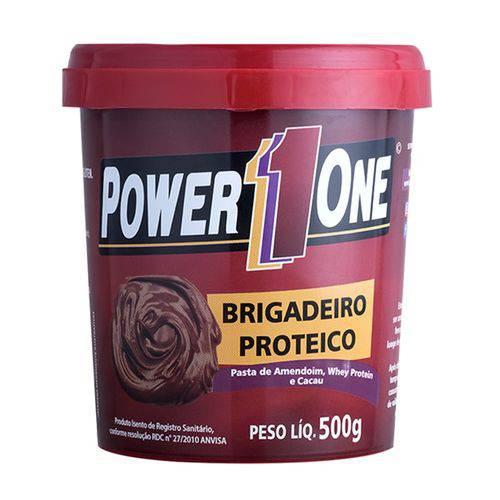 Pasta de Amendoim - 500 Gr - Brigadeiro Proteico