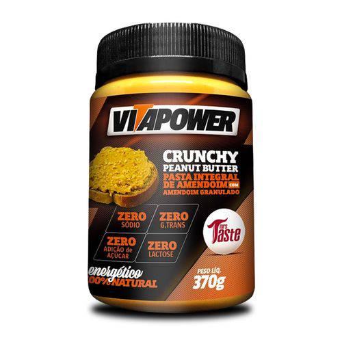 Pasta de Amendoim - (370g) Vitapower - Integral Granulada
