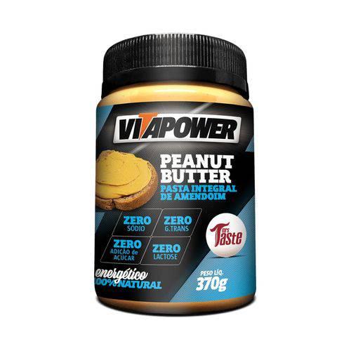 Pasta de Amendoim - (370g) Vitapower - Integral