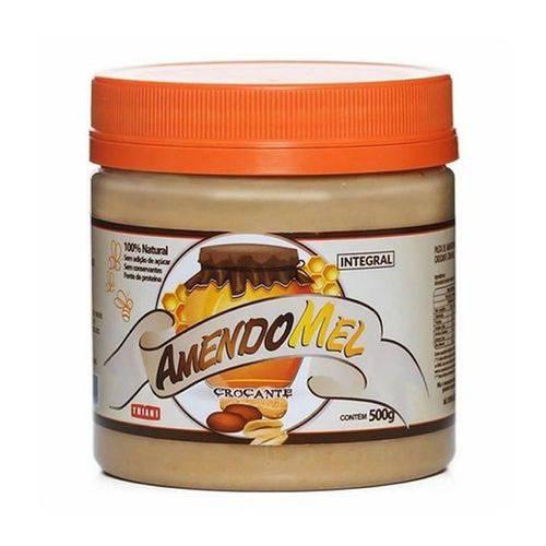 Pasta de Amendoim Amendomel 500g Crocante 100% Thiani