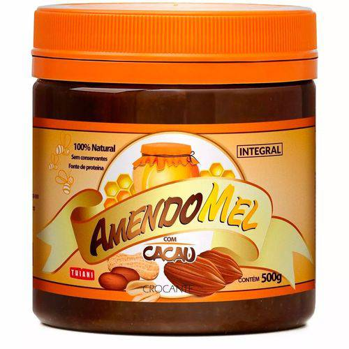 Pasta de Amendoim Amendomel 500g Thiani Alimentos - Thiani Alimentos