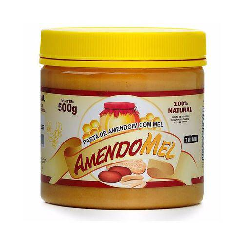 Pasta de Amendoim Amendomel 500g - Thiani