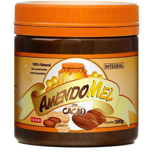 Pasta de Amendoim Amendomel Cacau 500g Thiani