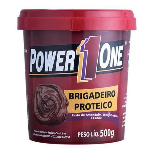 Pasta de Amendoim Brigadeiro Proteico - 500g - Power1one