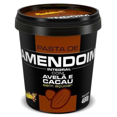 Pasta de Amendoim com Avelã e Cacau 480gr - Mandubim