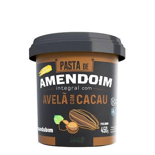 Pasta de Amendoim com Avelã e Cacau - Mandubim 450g
