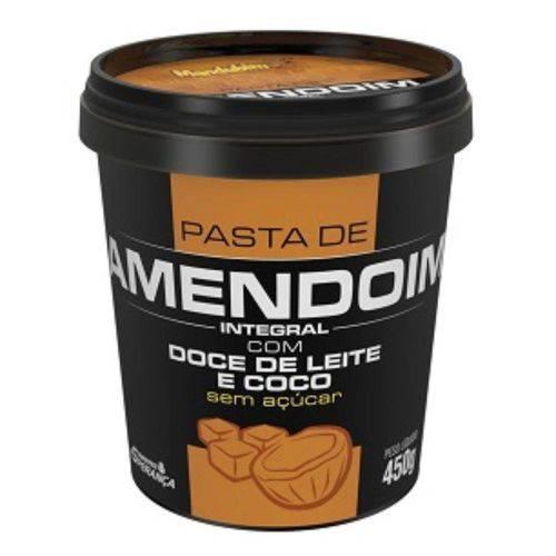Pasta de Amendoim com Doce de Leite e Coco (450g) Mandubim