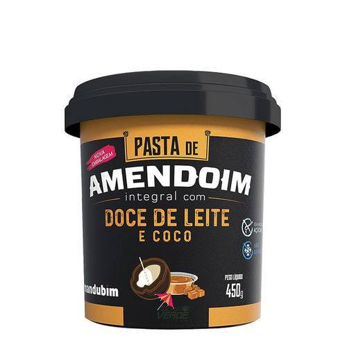Pasta de Amendoim com Doce de Leite e Coco - Mandubim 450g