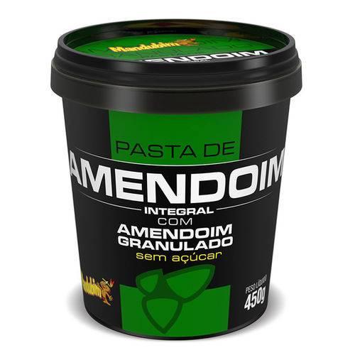 Pasta de Amendoim com Granulado 450g - Mandubim