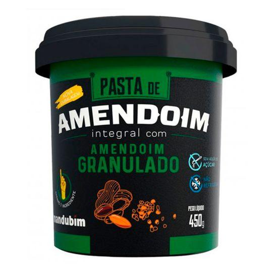 Pasta de Amendoim com Granulado Mandubim 450g
