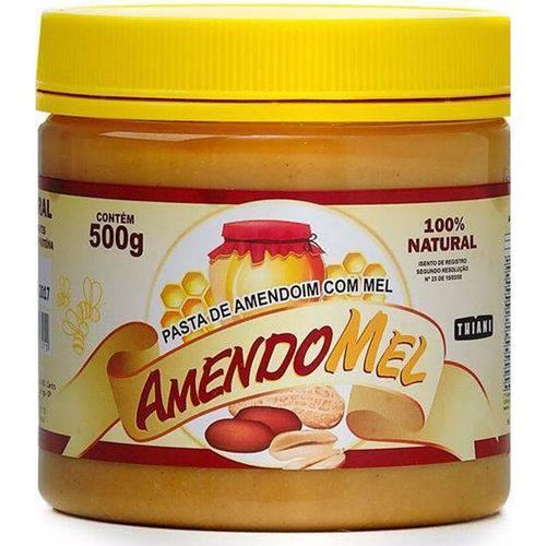 Pasta de Amendoim com Mel 500g - Thiani