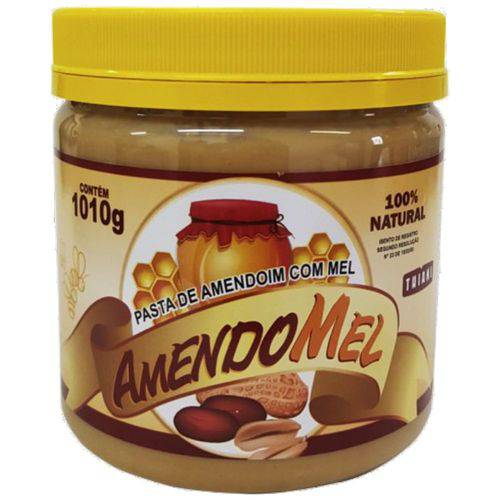Pasta de Amendoim com Mel (amendomel) - 1010kg - Thiani