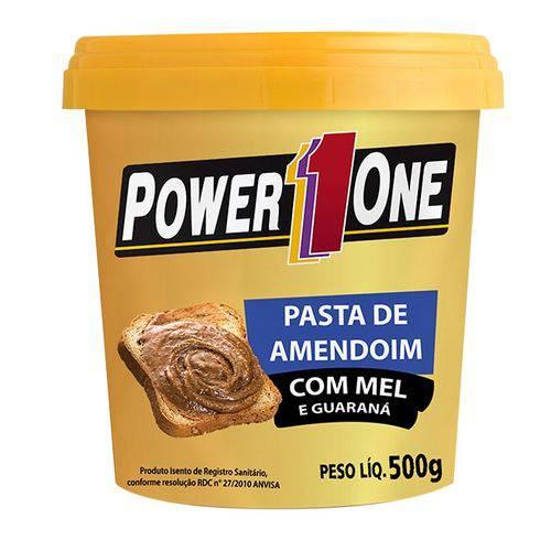 Pasta de Amendoim com Mel e Guaraná 500g - Power 1 One