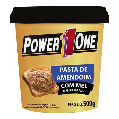 Pasta de Amendoim com MEL e GUARANÁ - Power One - 500g