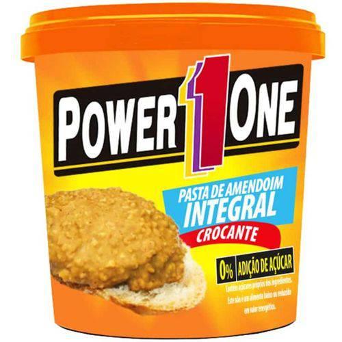Pasta de Amendoim Crocante 1kg - Power One