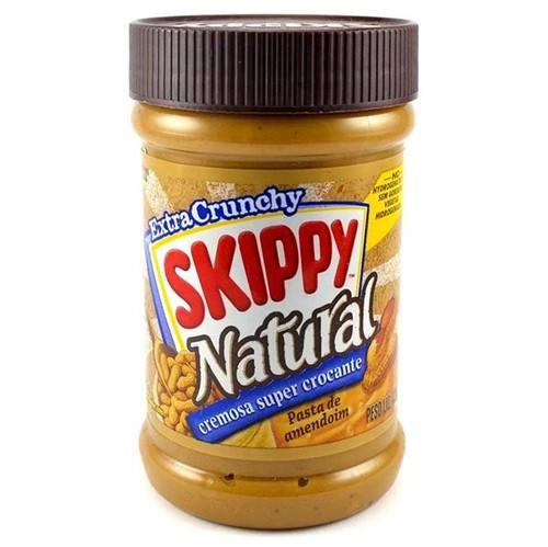 Pasta de Amendoim Crocante Skippy. Importada 425g.