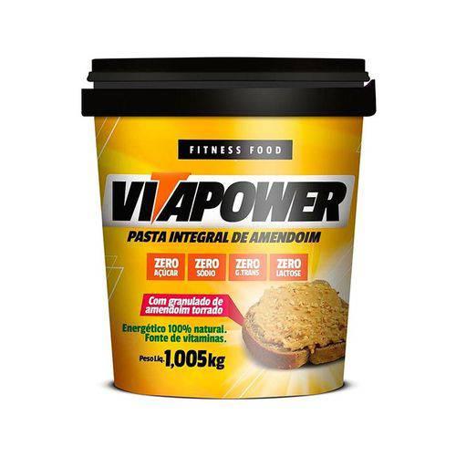 Pasta de Amendoim Granulado 1kg Vitapower
