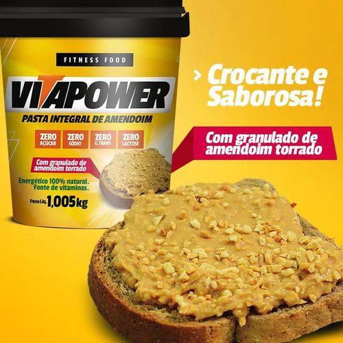 Pasta de Amendoim Integral 1,005 Kg - Vita Power