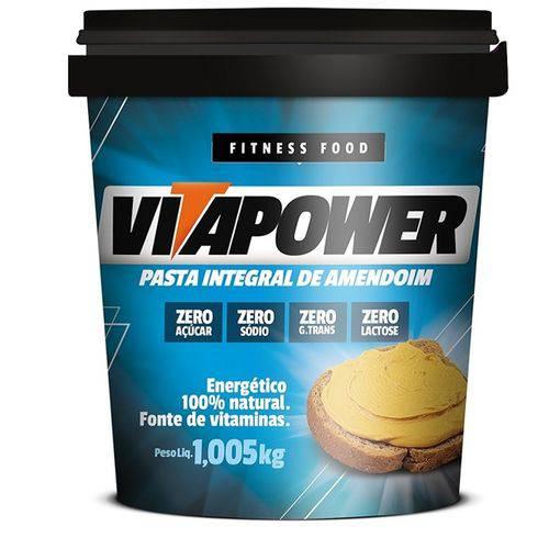 Pasta de Amendoim Integral (1,005g) - Vitapower
