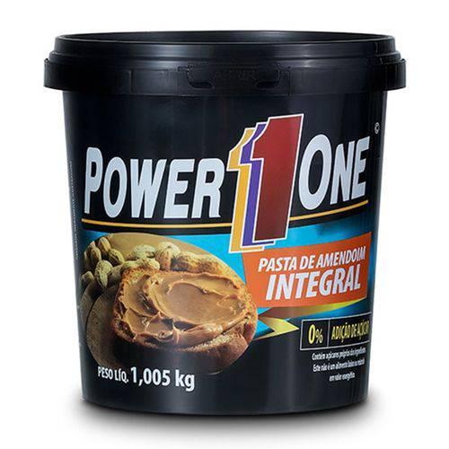 Pasta de Amendoim Integral 1005g - Power 1 One