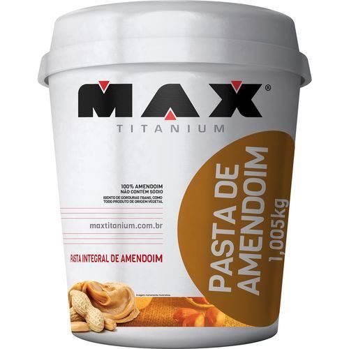 Pasta de Amendoim Integral 1kg Max Titanium