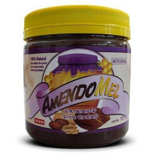 Pasta de Amendoim Integral Amendomel Cacau Crocante (1KG)