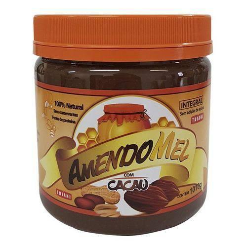 Pasta de Amendoim Integral - Amendomel com Cacau (1KG)