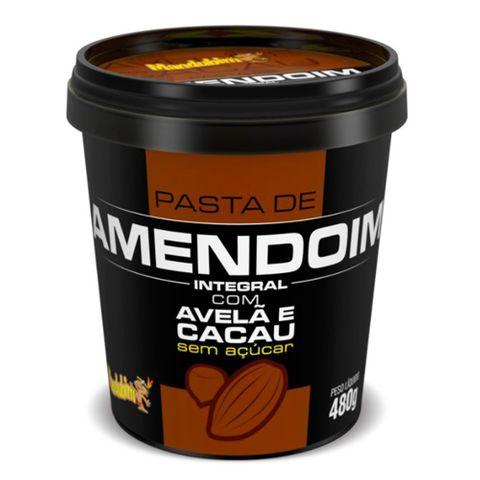 Pasta de Amendoim Integral com Avelã/Cacau 450g - Mandubim