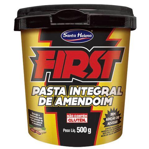 Pasta de Amendoim Integral First 500g - Santa Helena