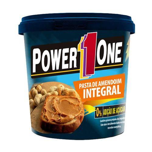 Pasta de Amendoim Integral - Power One - 1kg