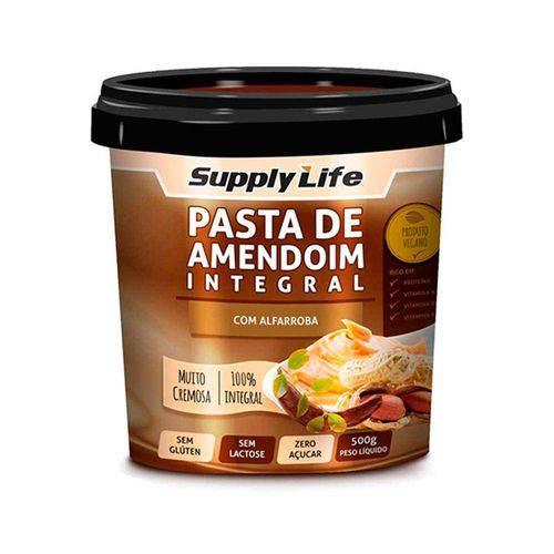 Pasta de Amendoim Integral - Supply Life - 500grs