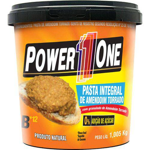 Pasta de Amendoim Integral Torrado 1005G - Power One