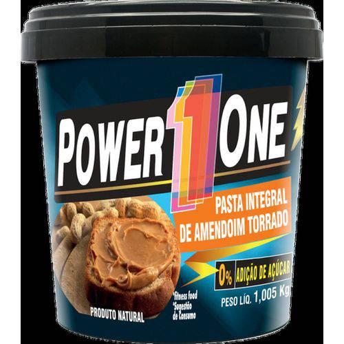 Pasta de Amendoim Integral Tradicional (1kg) - Power One