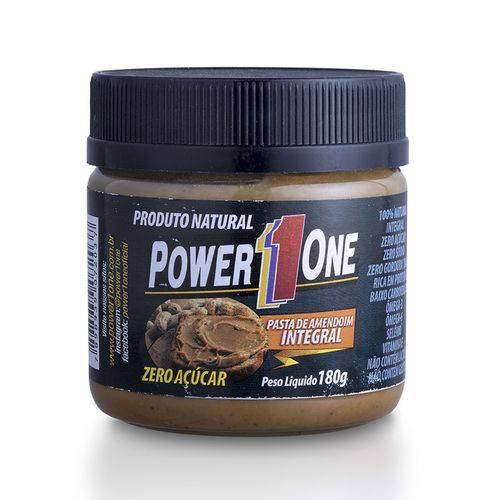 Pasta de Amendoim Integral Tradicional - Power One - 180g