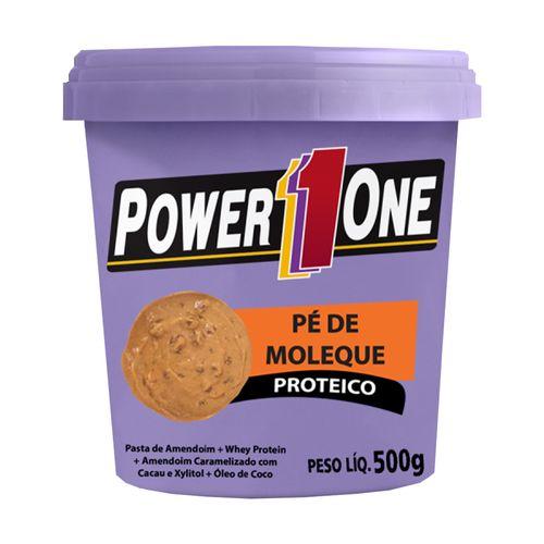 Pasta de Amendoim Pé de Moleque - Power One - 500g
