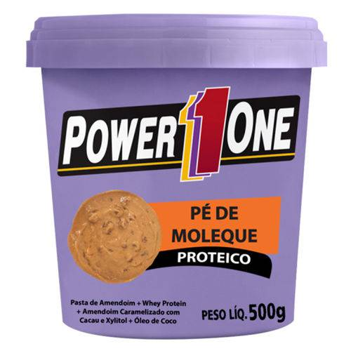 Pasta de Amendoim Pé de Moleque Proteico (500g) - Power One