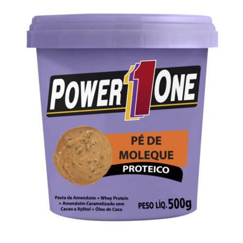 Pasta de Amendoim Pé de Moleque Proteico (500g) - Power1one
