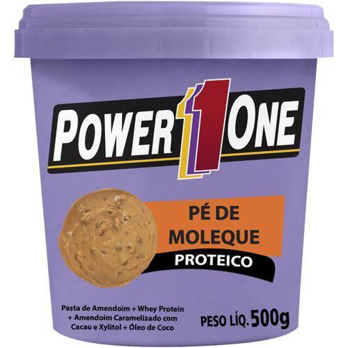 Pasta de Amendoim Pé de Moleque Proteico (Pt) 500g - Power One